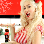 Little_Coca_Cola_Pin_Up_Girl.png Moonlyn, Silent Night, Christmas Carol, Christmas Pin-Up Girl, Sexy Christmas, Photos, Pix, Marilyn Monroe, I Wanna Be Loved By You, Jayne Mansfield, Jayne Mansfield Look-a-like, blonde bombshell